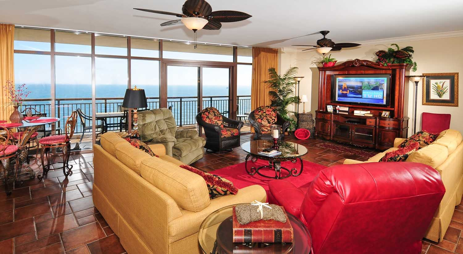 North Beach Plantation 3 Bedroom Oceanfront Magnolia Condo