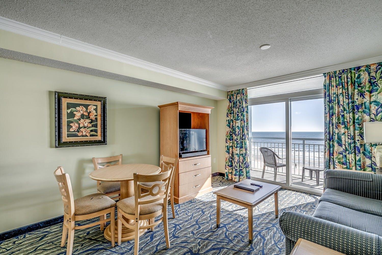 Paradise Resort 1 Bedroom Oceanfront Condo Myrtle Beach Condos Vacation Rentals